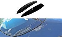 HECK SEITE Spoiler CAP Passend Für OPEL ASTRA H (FOR OPC / VXR) Carbon Look