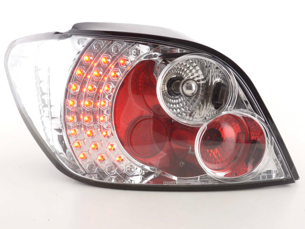LED Rückleuchten Set Peugeot 307 01-04 chrom