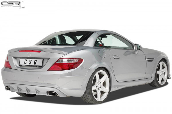 Heckansatz für Mercedes Benz SLK R172 AMG-Line HA219