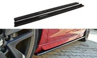Seitenschweller Ansatz Passend Für PEUGEOT 308 II GTI Schwarz Matt