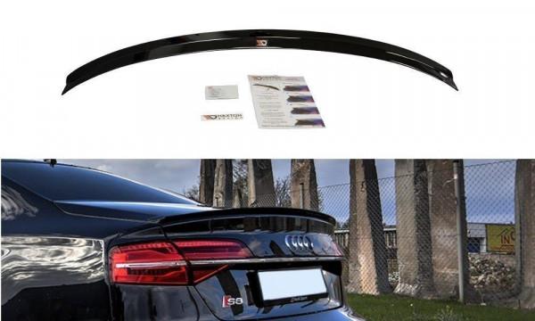 Spoiler CAP Passend Für AUDI S8 D4 Carbon Look