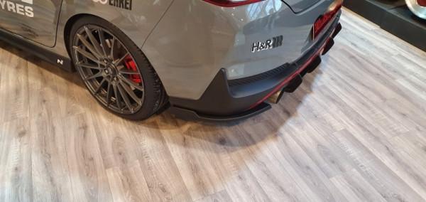Heckansatz Seitenteile für Hyundai I30N Fastback ab Bj.2018-