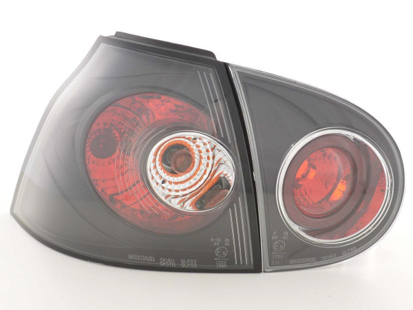 Rückleuchten Set VW Golf 5 Typ 1K 03-08 schwarz