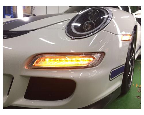 LED Frontblinker Kombination Porsche 911/997 04-08 Celis Technik