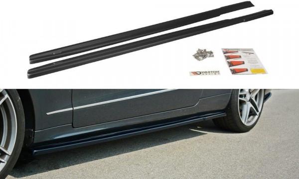 Seitenschweller Ansatz Passend Für Mercedes E W212 Carbon Look