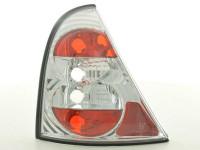 Rückleuchten Set Renault Clio Typ B Bj. 98-01 chrom
