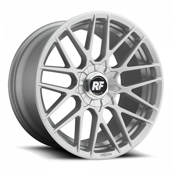 Rotiform RSE ET35 plate Front - Silber