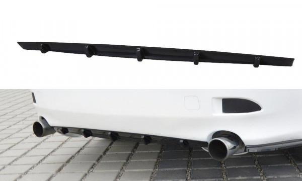 Diffusor Heck Ansatz Passend Für Lexus IS Mk2 Schwarz Hochglanz
