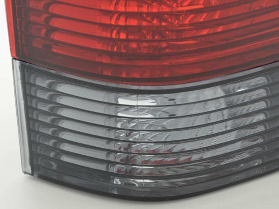 Rückleuchten Set VW Bus T4 Typ 70... Bj. 91-04 schwarz/rot