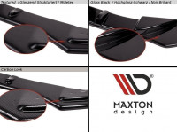 Mittlerer Diffusor Heck Ansatz Passend Für HONDA S2000 Schwarz Matt