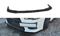 Front Ansatz Passend Für V.1 Mitsubishi Lancer Evo X Schwarz Matt